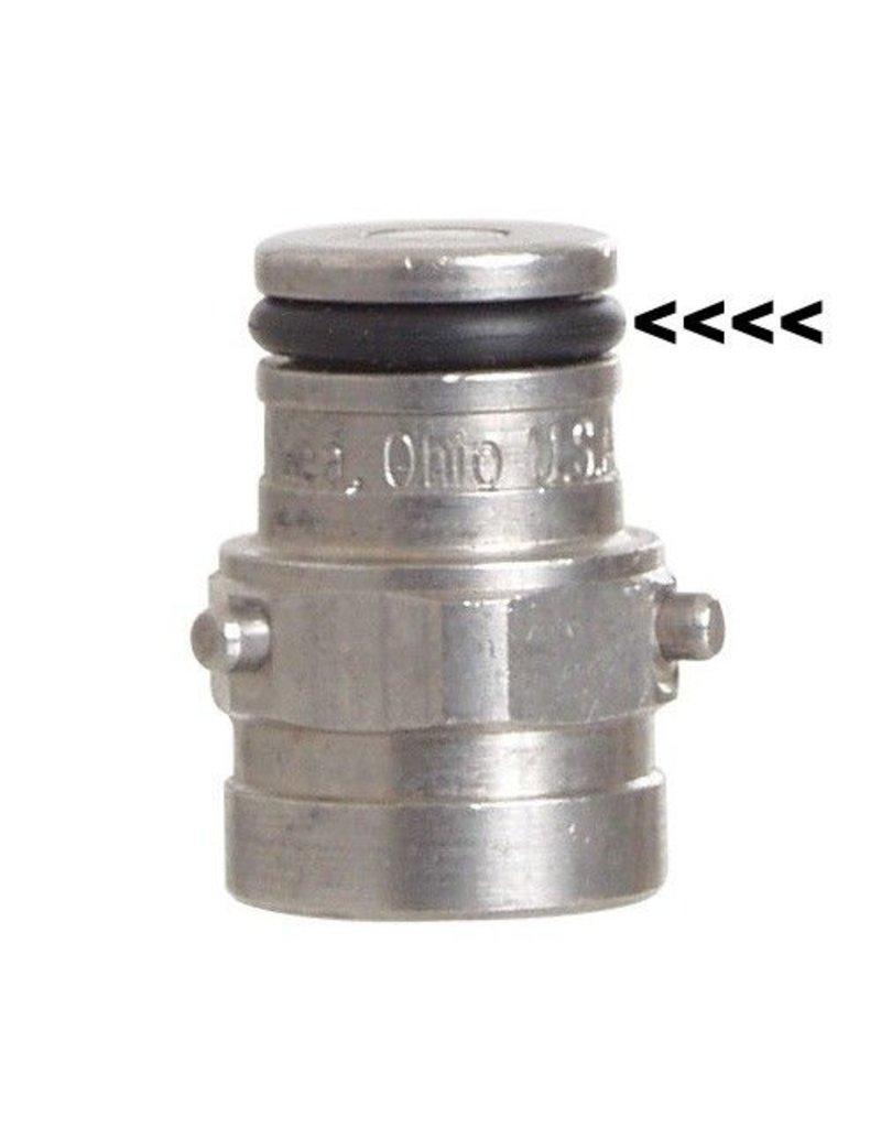 Foxx Equipment Company O-Ring Pin Lock Post (Yellow)