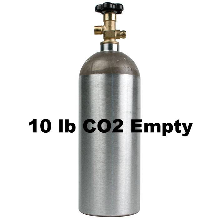 Foxx Equipment Company CO2 Tank Empty (10 lb)