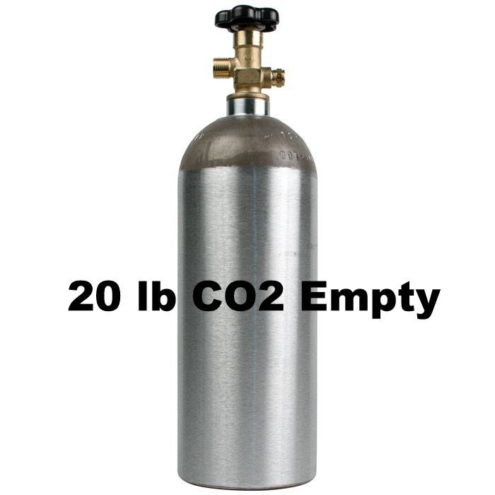 Foxx Equipment Company Co2 Tank Empty (20 lb)