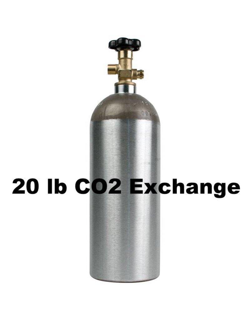 CO2 Tank Exchange (20 lb)