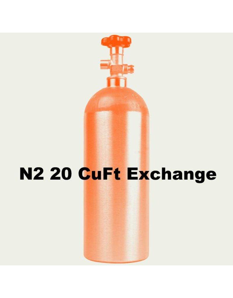 N2 Tank Exchange (20 CuFt)