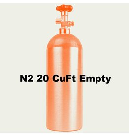Foxx Equipment Company N2 Tank Empty (20 CuFt)