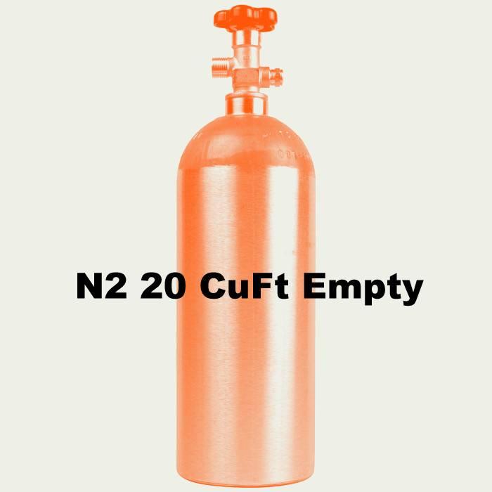 Foxx Equipment Company N2 Tank Empty (20 CuFt)