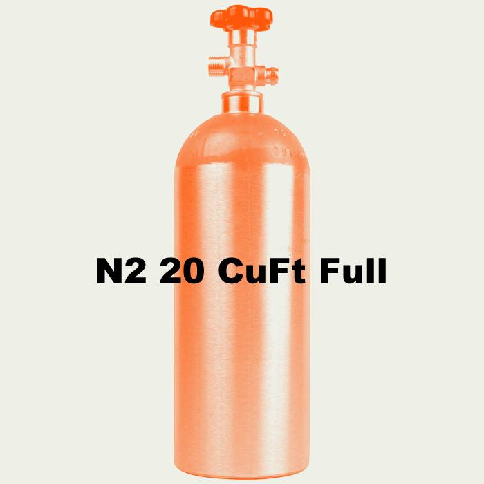 Foxx Equipment Company N2 Tank Full (20 CuFt)