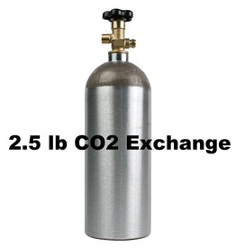 CO2 Tank Exhange (2.5 lb)