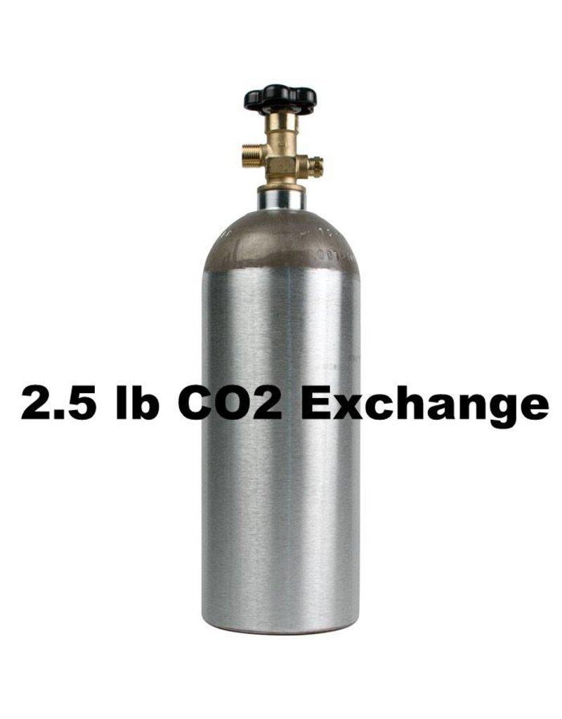 CO2 Tank Exhange (2.5 lb)