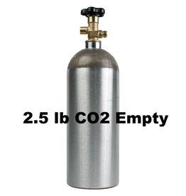 CO2 Tank Empty (2.5 lb)