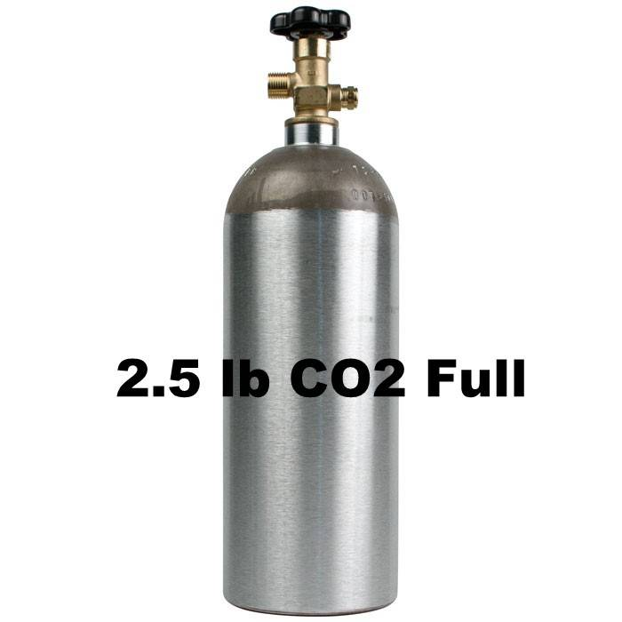 CO2 Tank Full (2.5 lb)