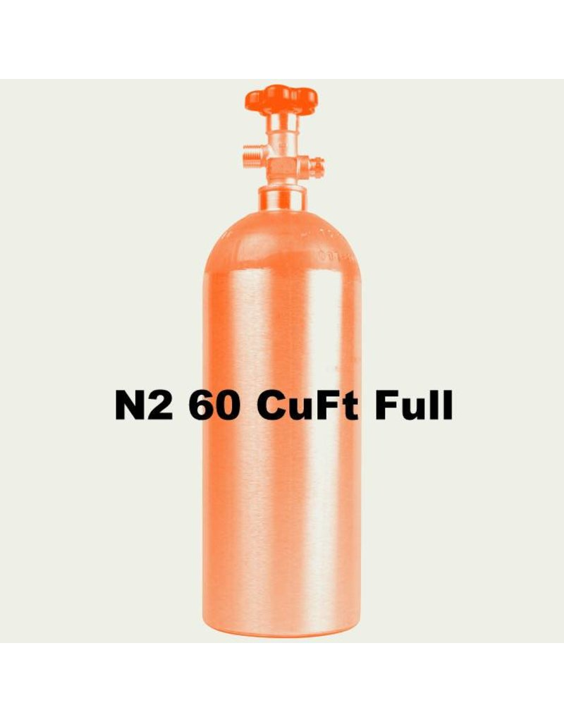 N2 Tank Full (60 CuFt/H15)