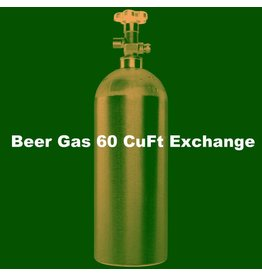 Beer Gas Tank Exchange (60 CuFt/H15)