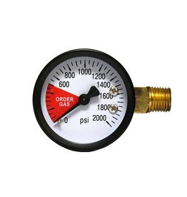 LD Carlson Regulator Gauge (Order Gas)