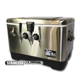 Coldbreak Brewing Jockey Box - Stainless Steel (2-Tap)