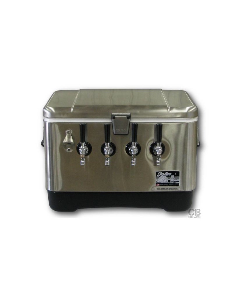 Coldbreak Brewing Jockey Box - Stainless Steel (4-Tap)