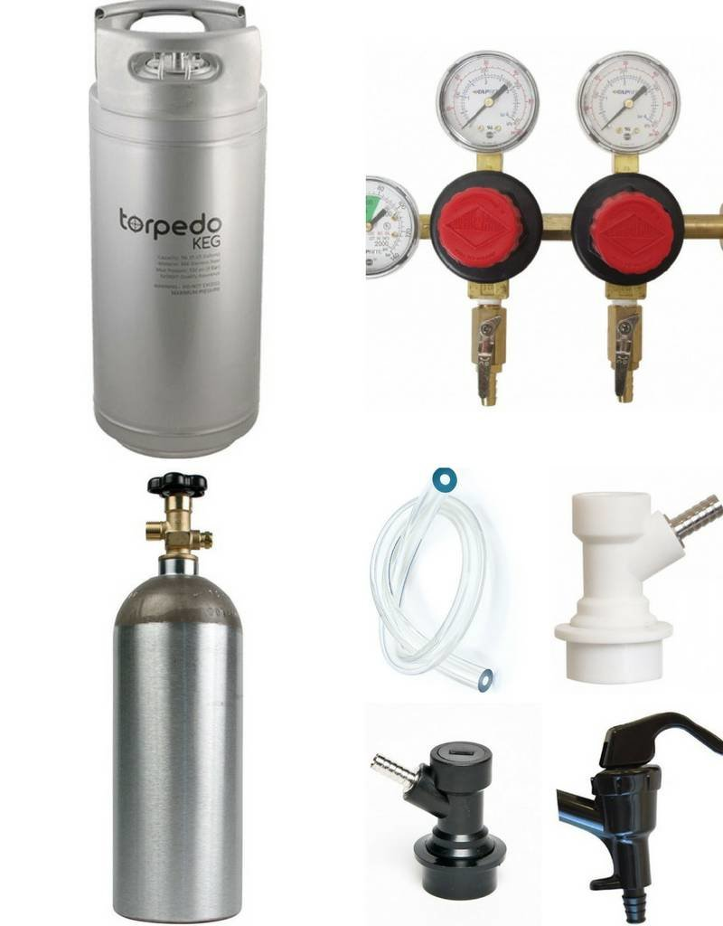 O'Connor's Home Brew Supply Kegging System Starter Package