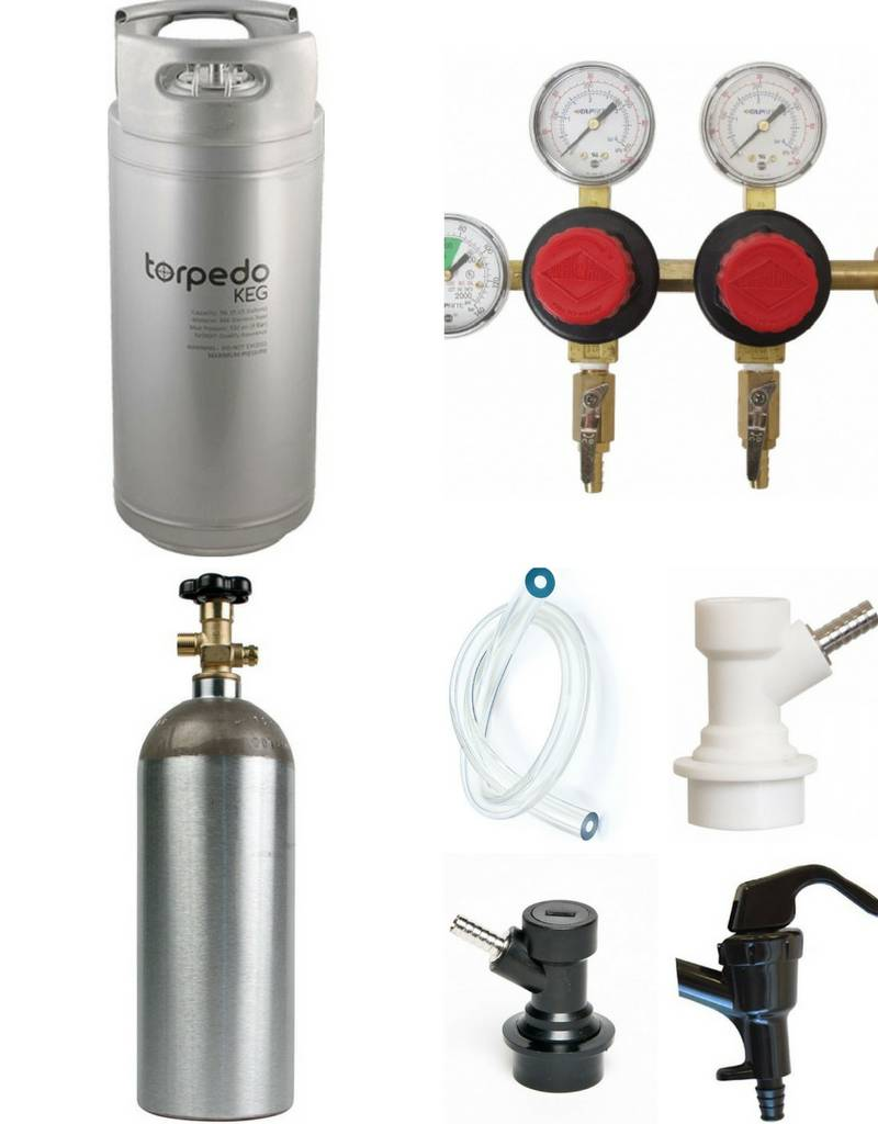 OConnors Home Brew Supply Kegging System Starter Package