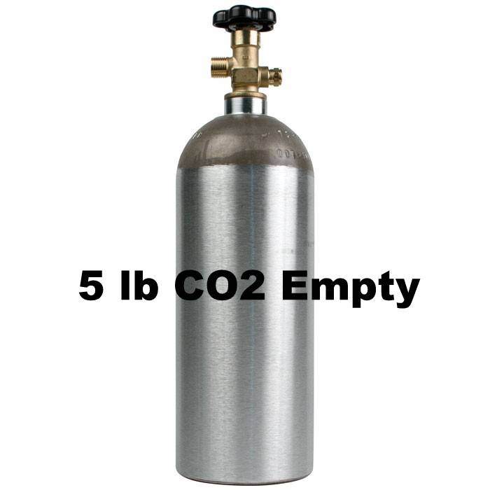 Coldbreak Brewing CO2 Tank Empty (5 lb)