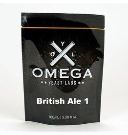 Omega Yeast Labs Omega British Ale 1