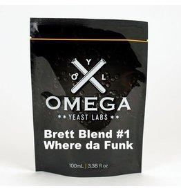 Omega Yeast Labs Omega Brett Blend 1 Where Da Funk