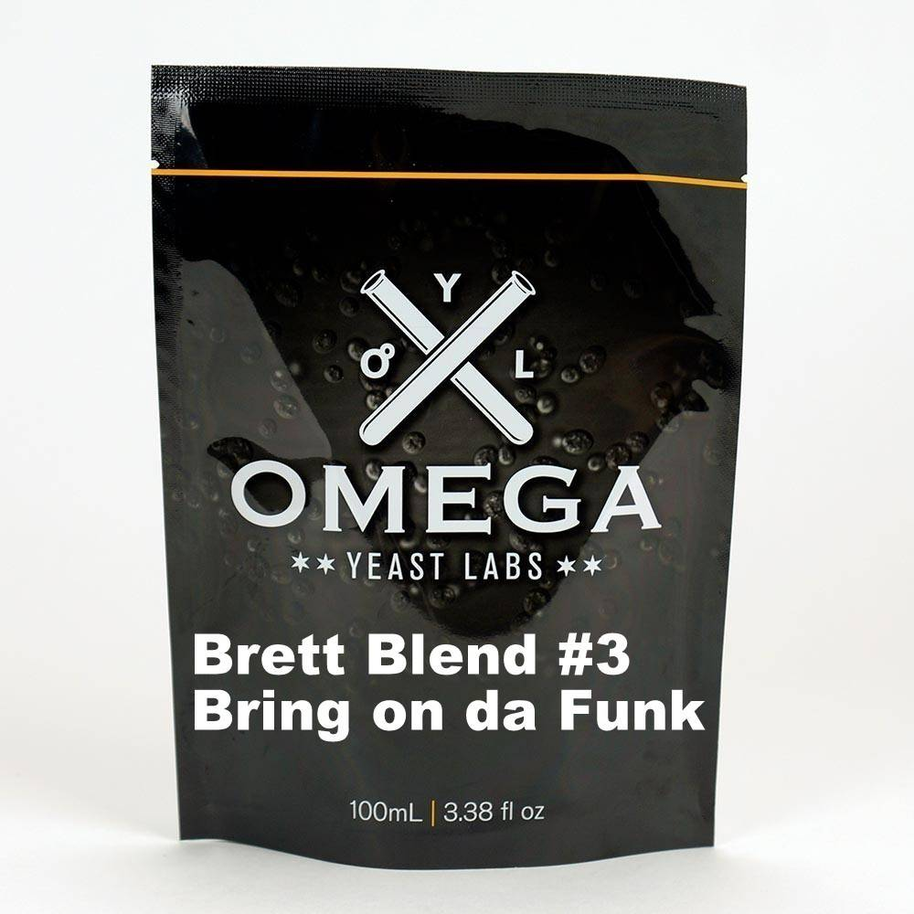 Omega Yeast Labs Omega Brett Blend 3 Bring on Da Funk