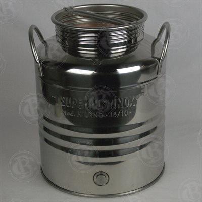 Brewcraft 5 Gallon Stainless Kombucha Fermenter (20L)
