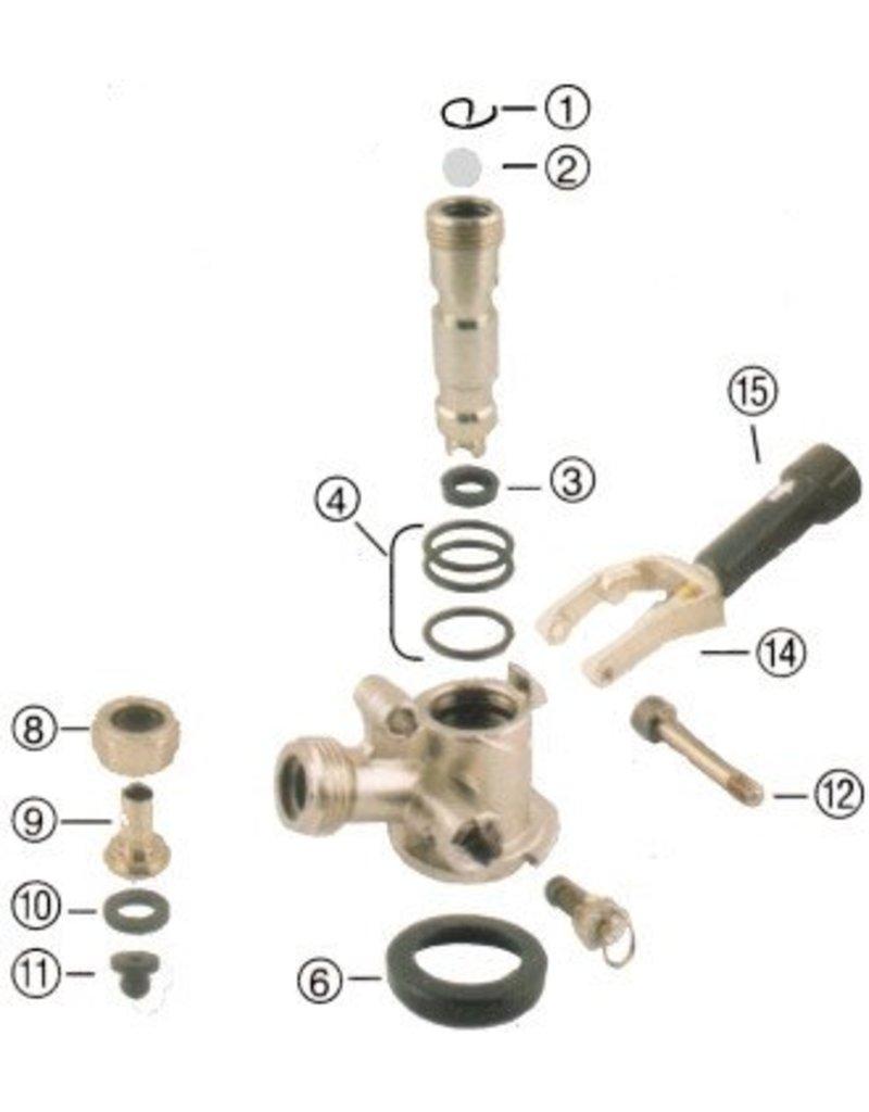 Foxx Equipment Company Probe O-Ring for Sankey Coupler (Perlick)