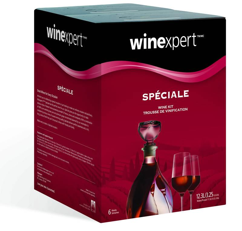 WineExpert Chocolate Raspberry Dessert Wine Kit (Speciale)