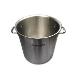 Coldbreak Brewing 10 Gallon Stainless Steel Kettle