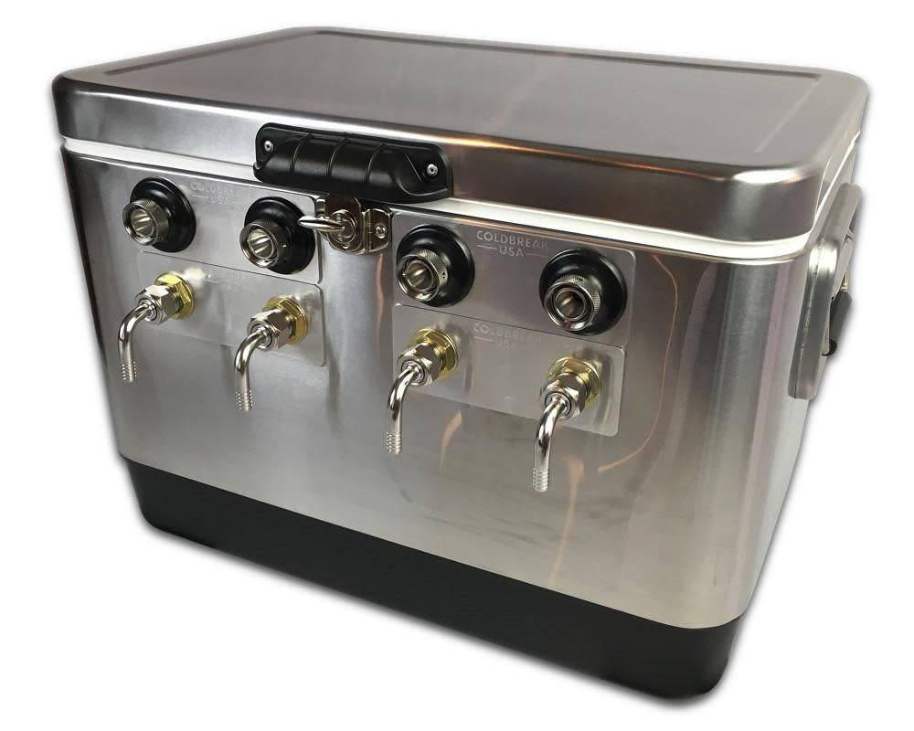 Coldbreak Brewing Jockey Box - 4 Tap (SBE)