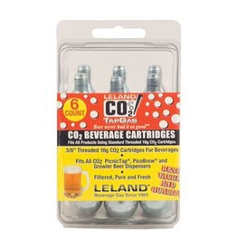 16g Threaded CO2 Cartridge (6-Pack)