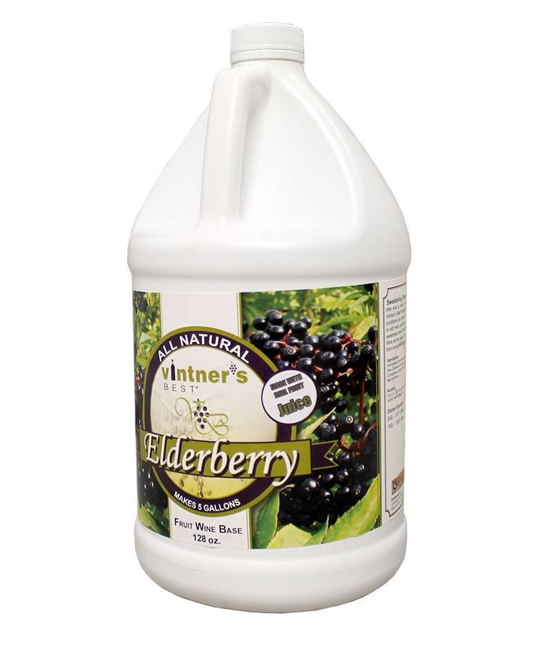Vintners Best Vinter's Best Elderberry Fruit Wine Base (1 gallon)