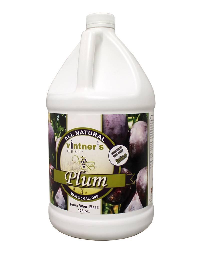 Vintners Best Vinter's Best Plum Fruit Wine Base (1 gallon)