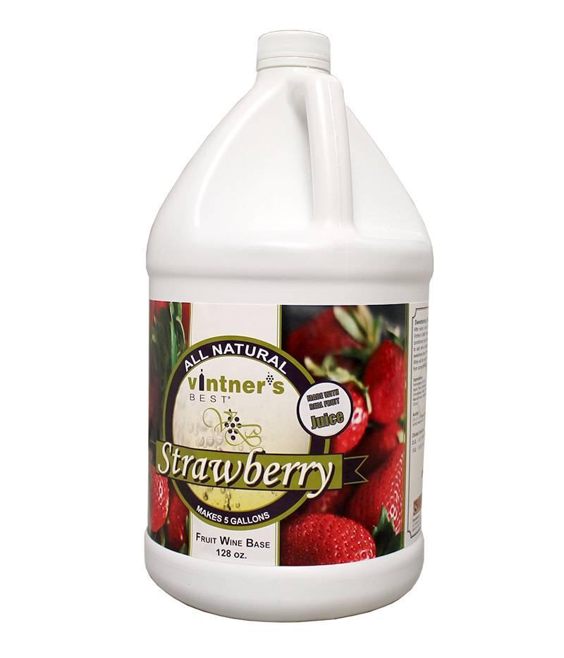 Vintners Best Vinter's Best Strawberry Fruit Wine Base (1 gallon)