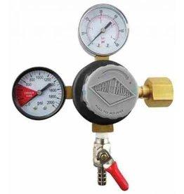 Foxx Equipment Company Taprite CO2 Regulator 5/16B Shutoff 60#
