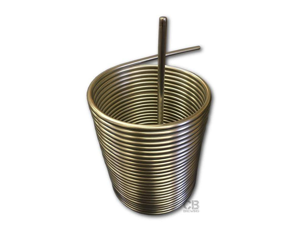 "Coldbreak Brewing Jockey Box Coil - 7"" Diameter"