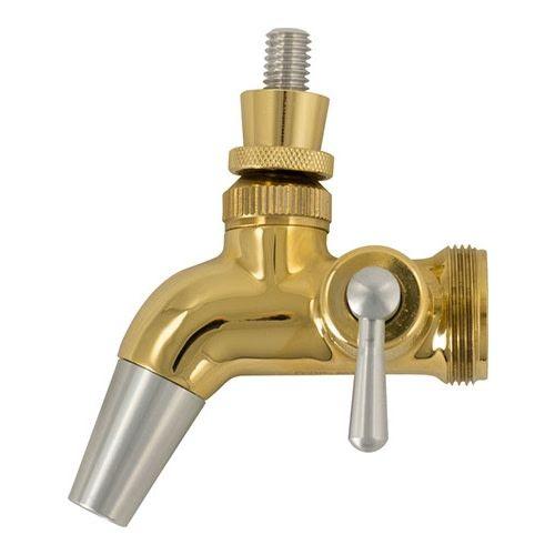 Intertap Intertap Forward Sealing Gold Plated Flow Control Faucet