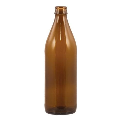 Bottles - 500ml Amber - Case of 12
