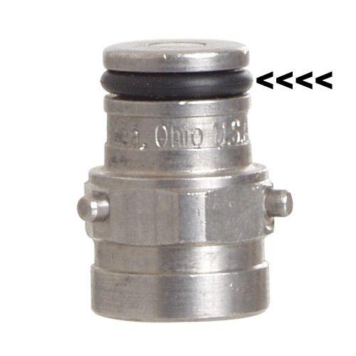 Foxx Equipment Company O-Ring Pin Lock Post (Black)