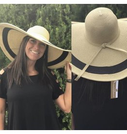 Pretty Woman Style Straw Hat