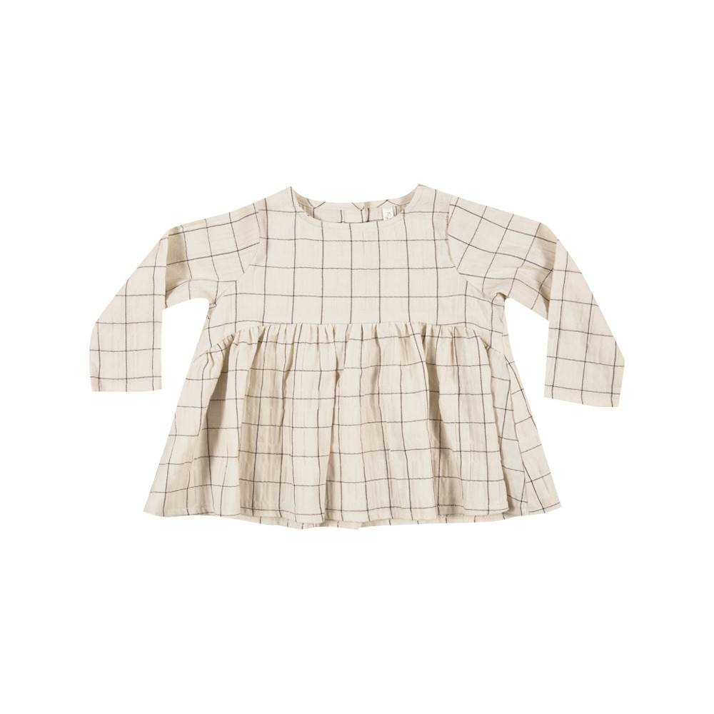 RYLEE AND CRU Check Long Sleeve Blouse