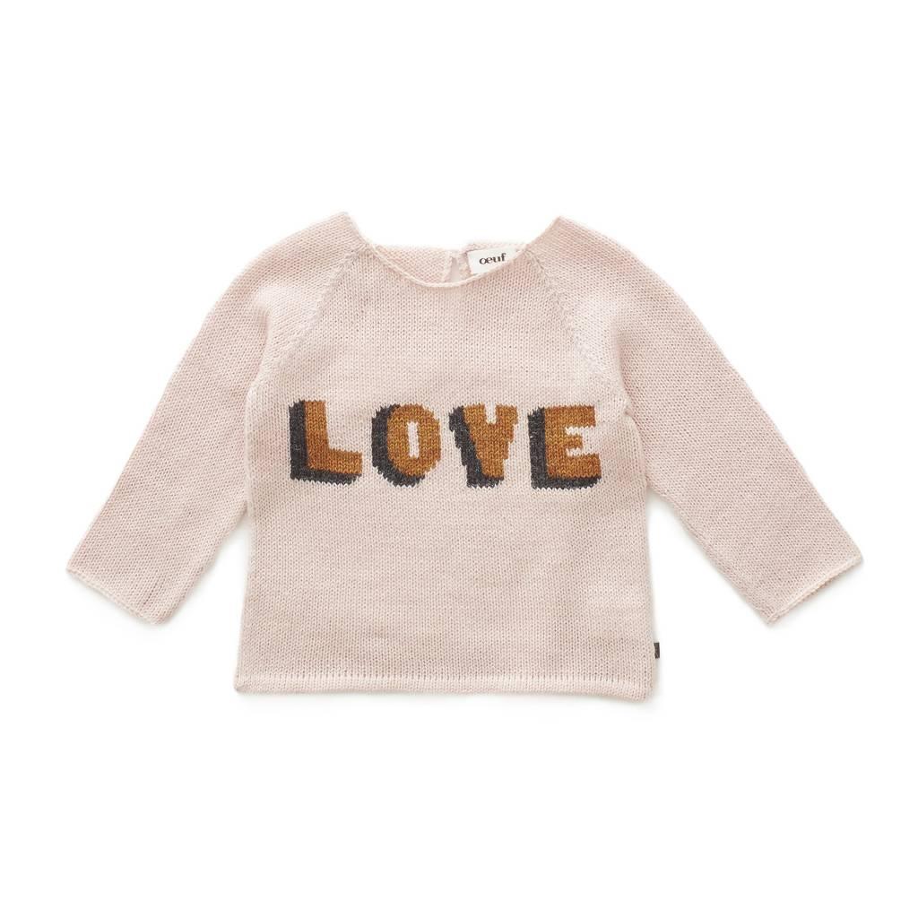 OEUF Love Sweater