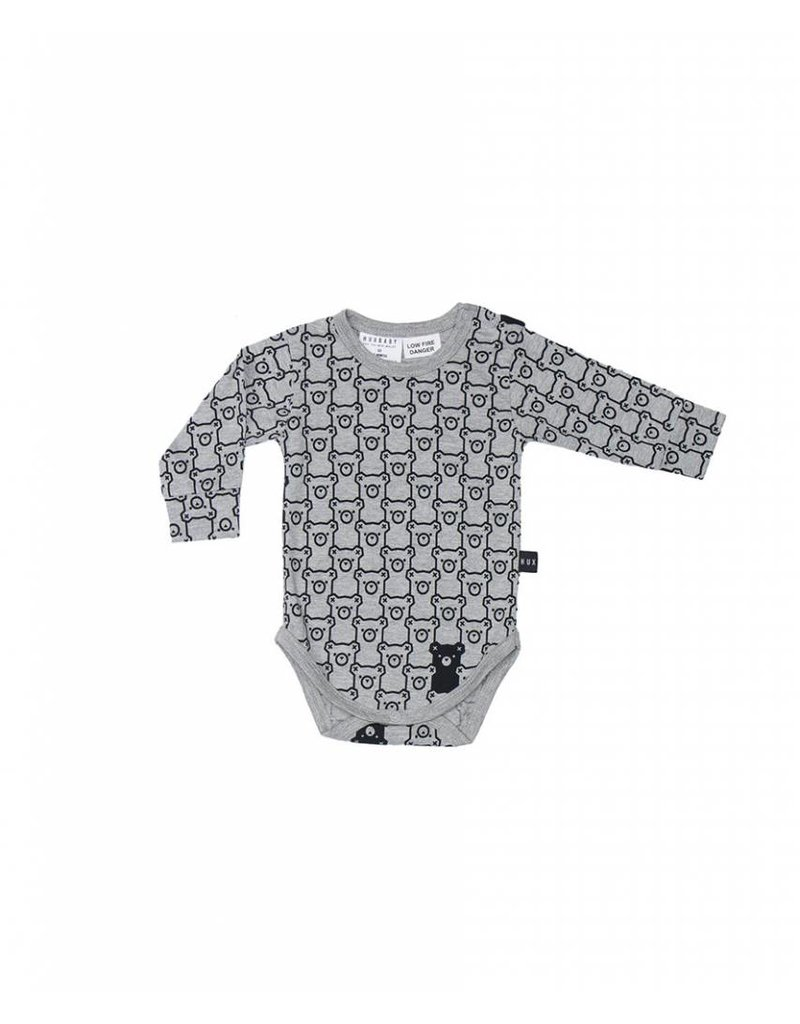 HUX BABY Hide N Seek Long Sleeve Onesie