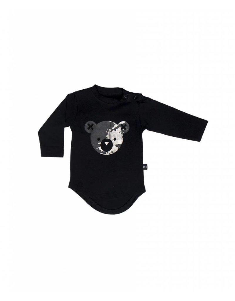 HUX BABY Splash Bear Long Sleeve Top