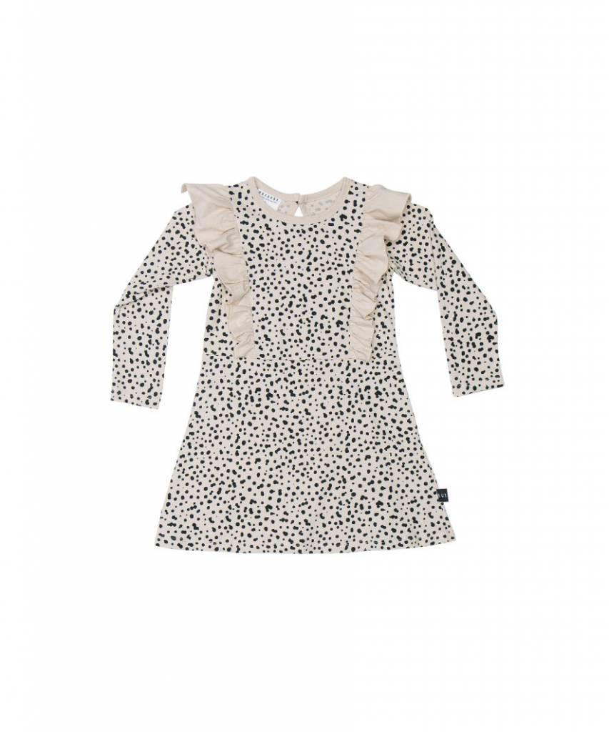 HUX BABY Long Sleeve Frill Dress