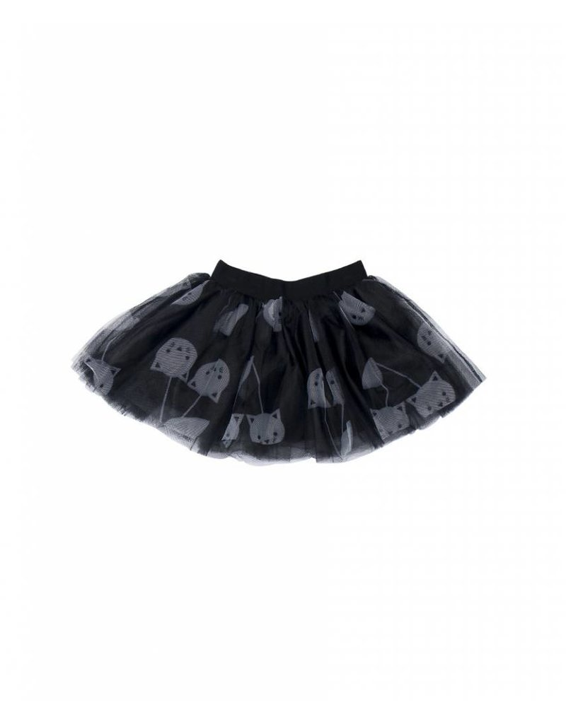 HUX BABY Black Tulle Skirt