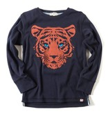 APPAMAN Tiger Style Graphic Long Sleeve Tee