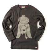 APPAMAN Graphic Long Sleeve Tee - Bloodhound