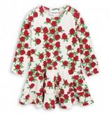 MINI RODINI Rose Longsleeve Frill Dress