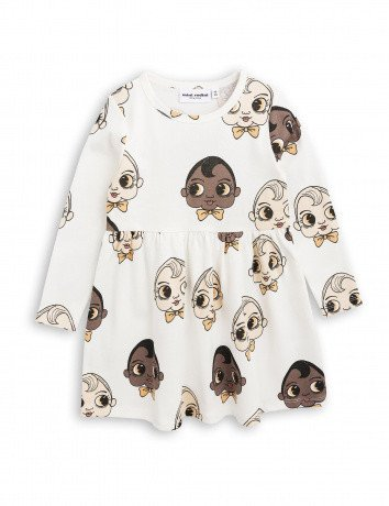 MINI RODINI Baby Babies Longsleeve Dress