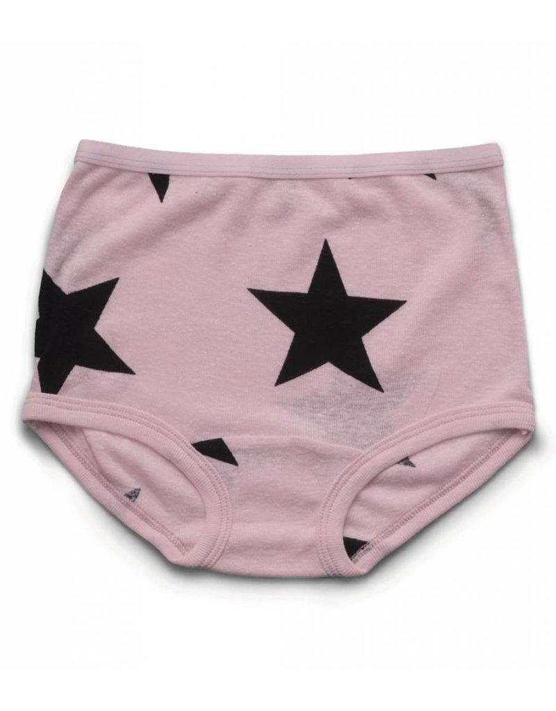 NUNUNU Girls Star Underwear Set