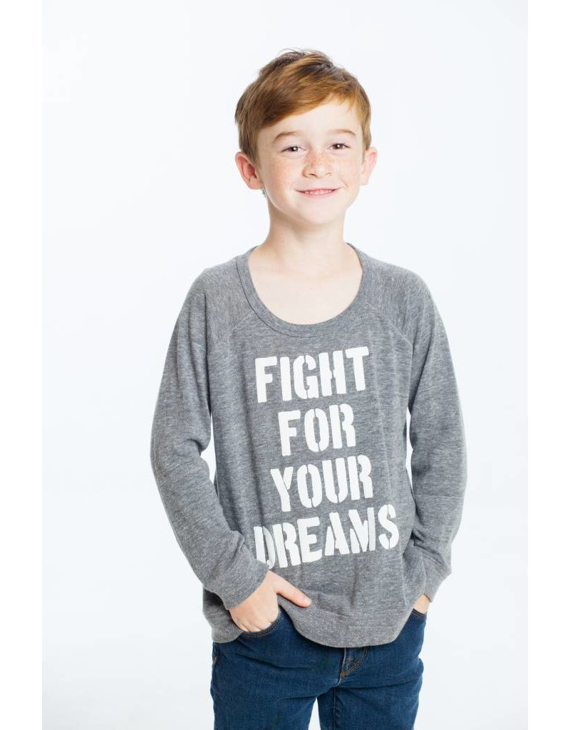 CHASER Triblend Long Sleeve Raglan, Dreams